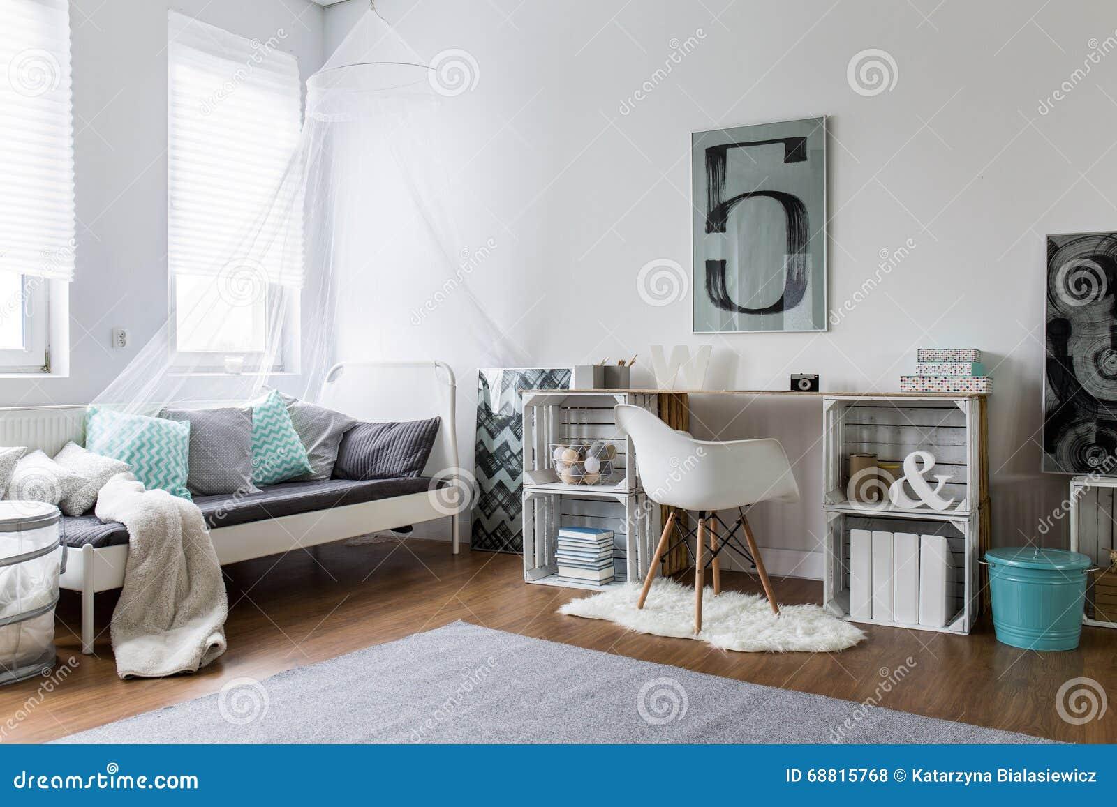 Gem tliches schlafzimmer perfekt f r stilvollen hippie stockfoto bild 68815768 - Hippie zimmer ...
