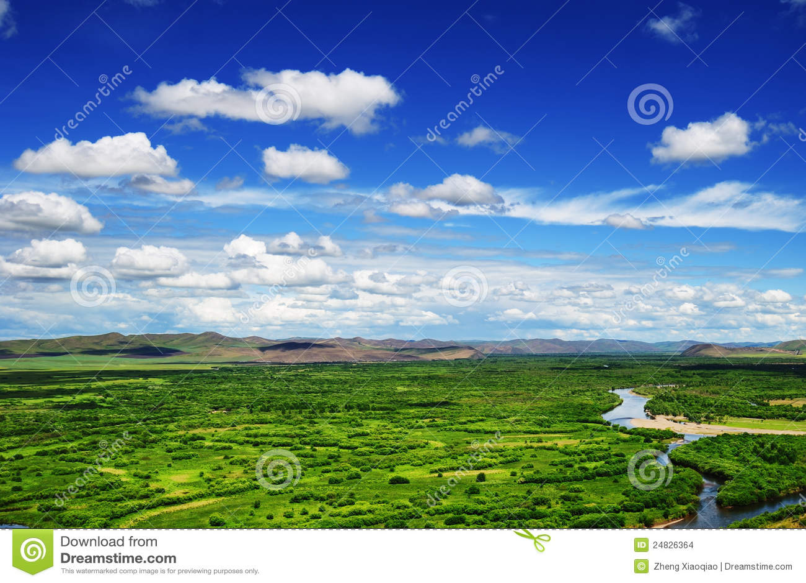 GEN-Feuchtgebiet, Mongolei-Provinz, China