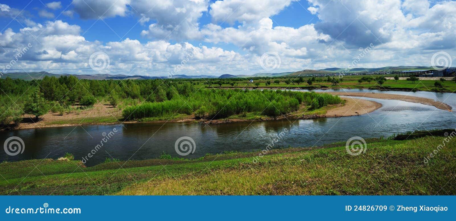 Gen River, Mongolia Province, China