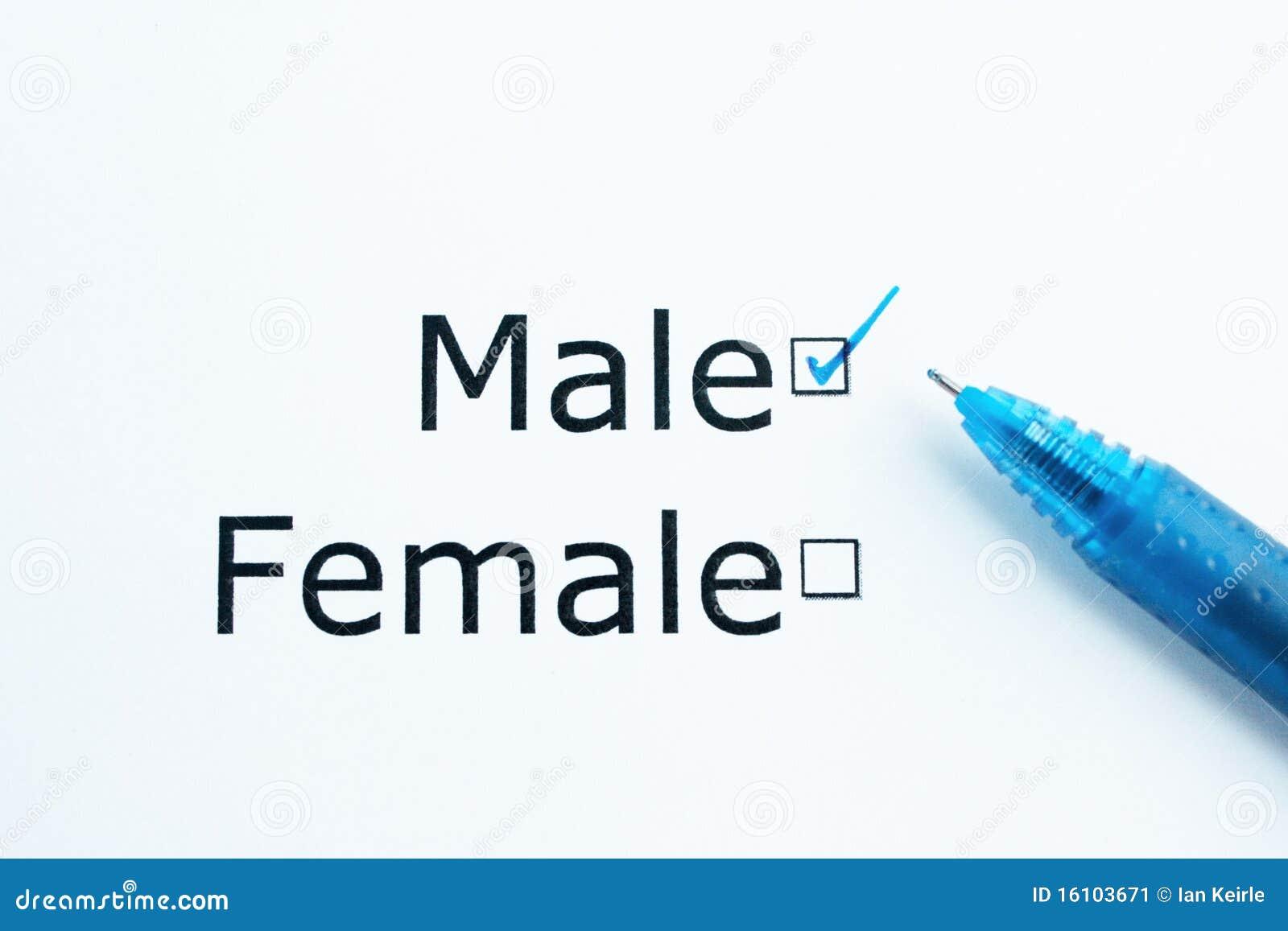 Gender question