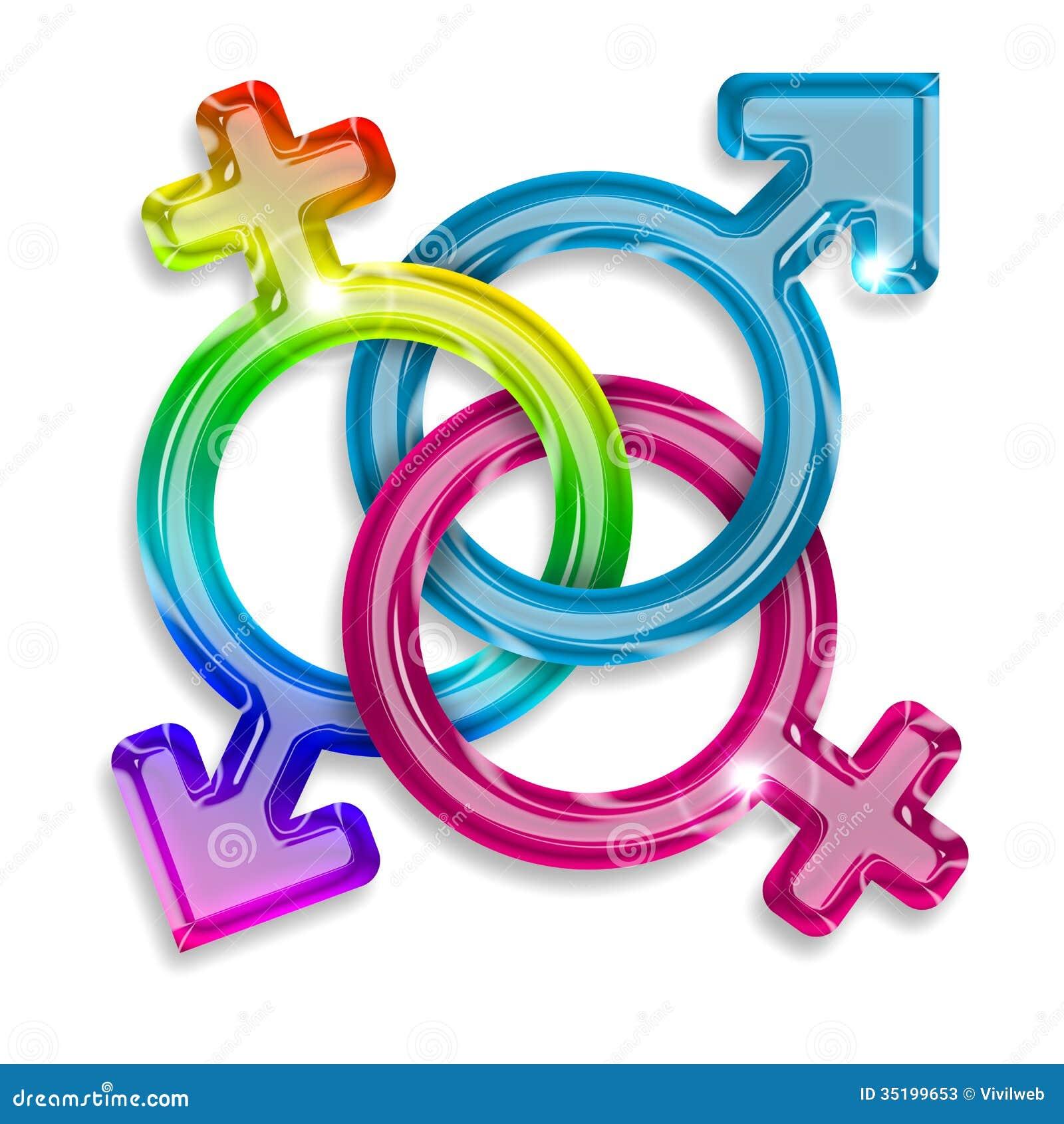 Gender symbols stock illustration illustration of modern 35199653 gender symbols buycottarizona