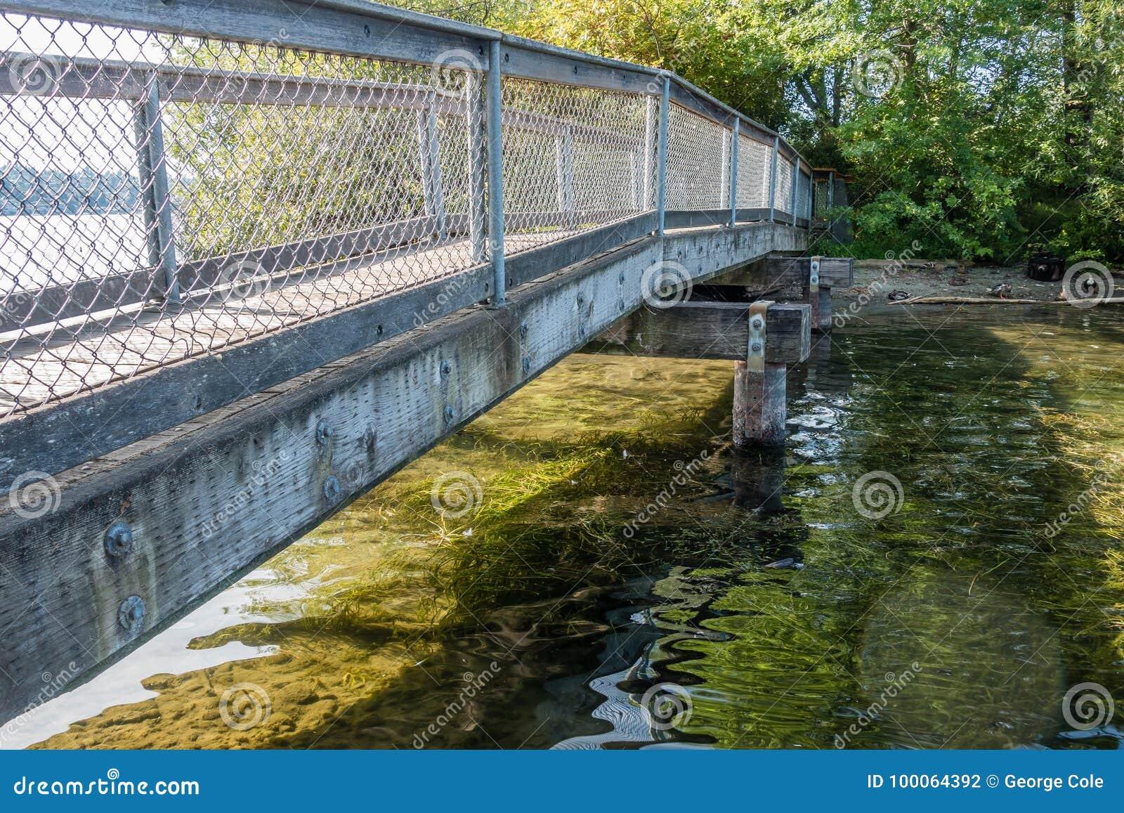 Gene Coulon Park Bridge 2