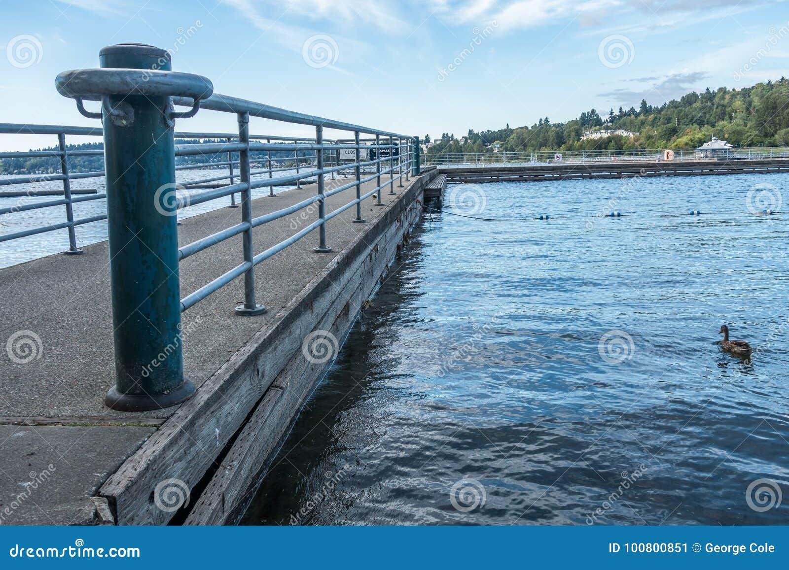 Gene Coulon Park Pier