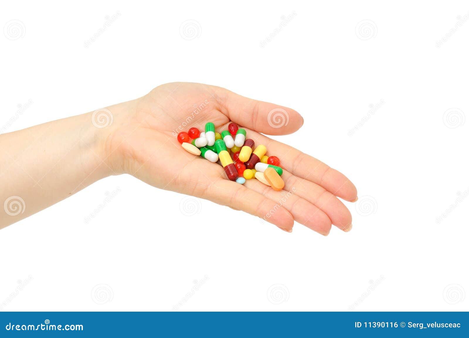 Geneeskunde in een hand