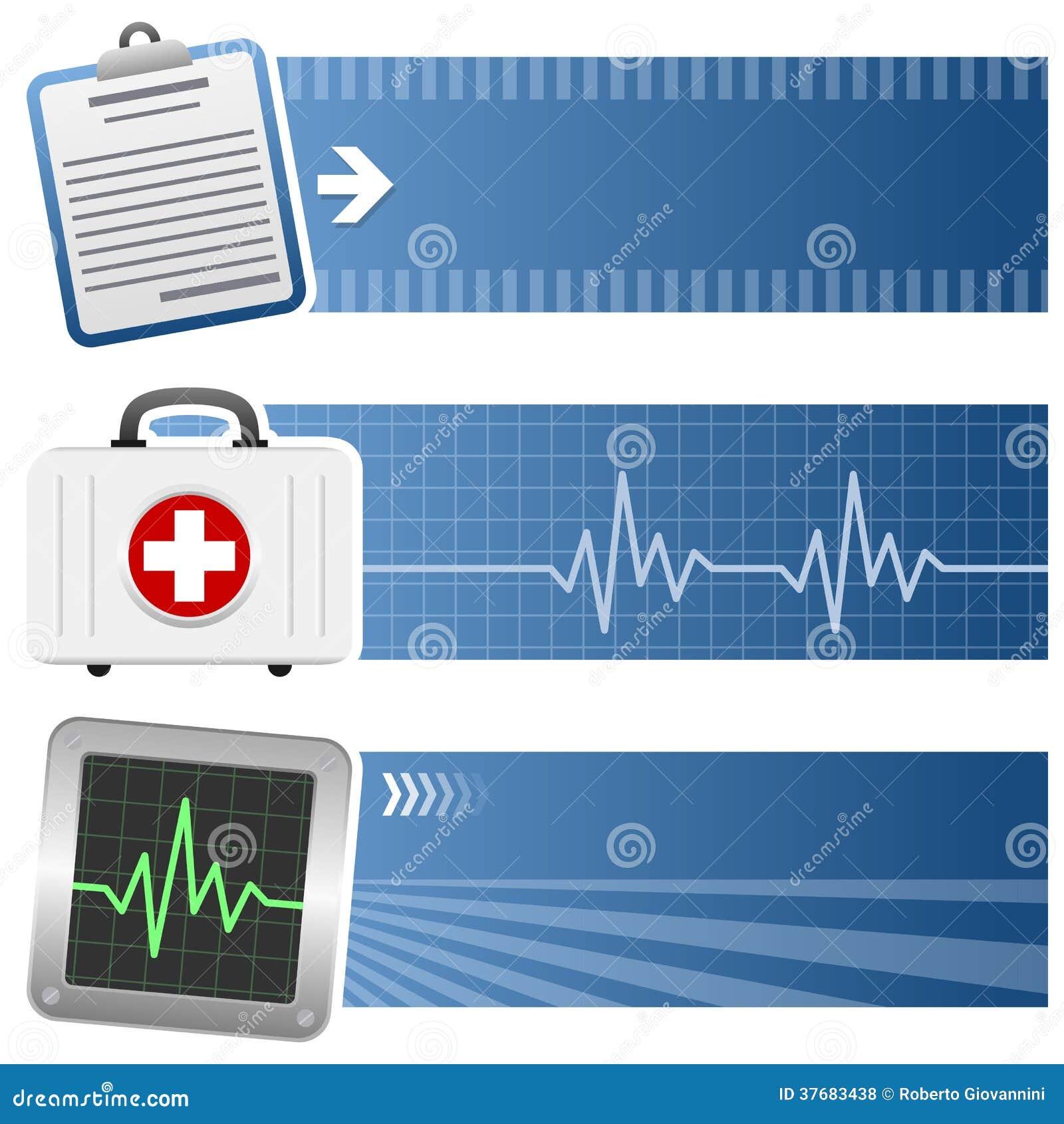 Geneeskunde & Gezondheidszorg Horizontale Banners
