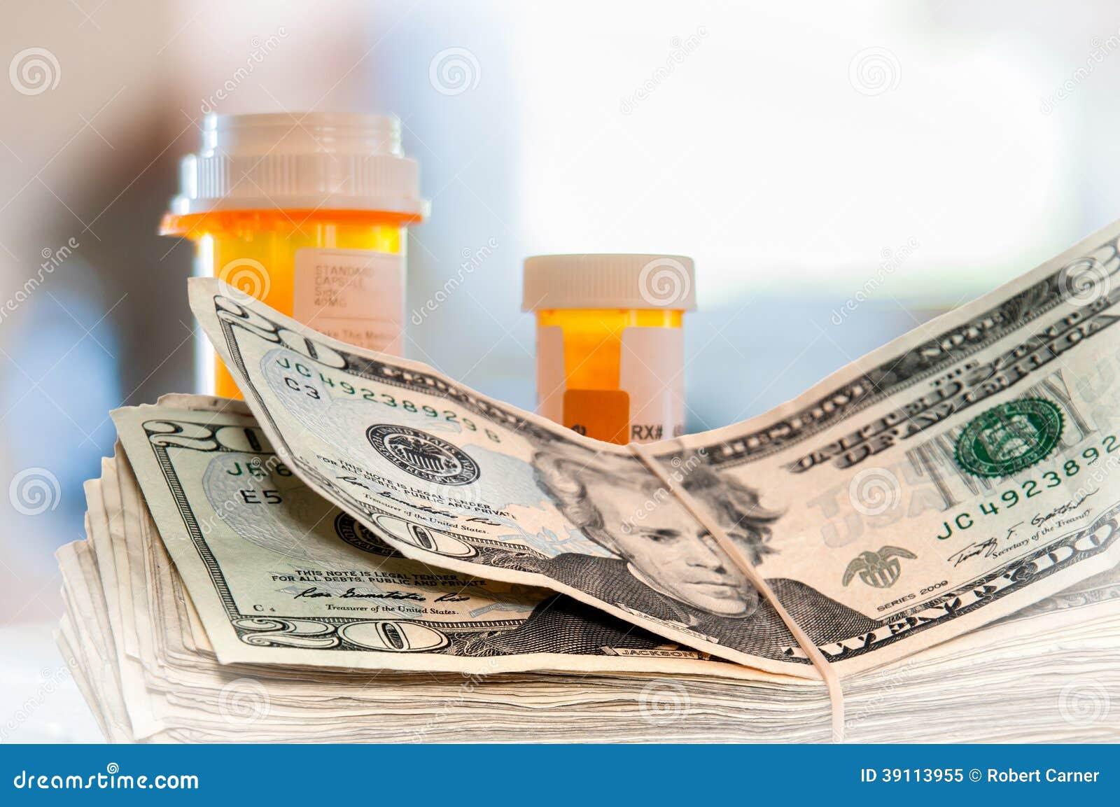 Geneeskundeflessen en Geld