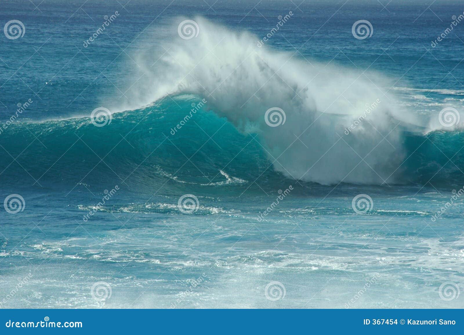 Geneigte Welle