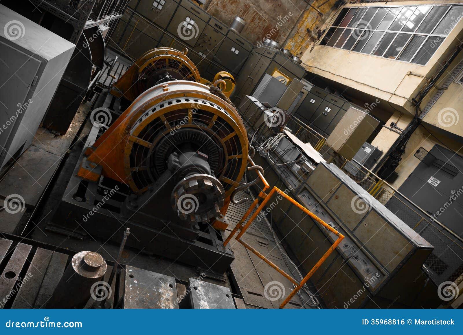 Generador de la energía eléctrica