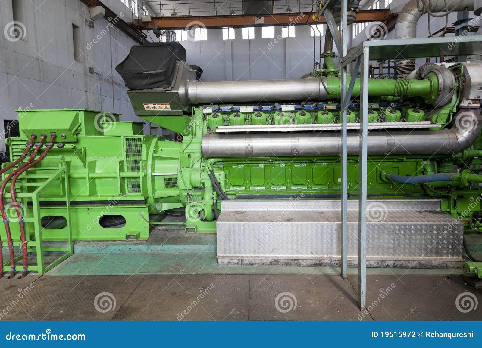 Generador espera industrial enorme del dieasel.