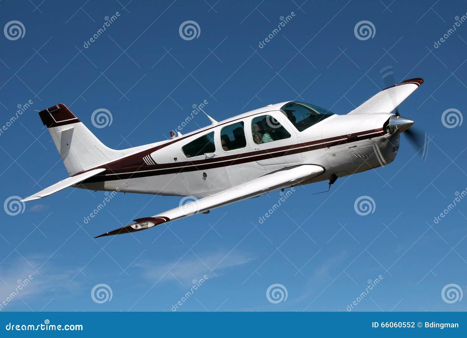 General Aviation - Beechcraft Bonanza Editorial Photography - Image