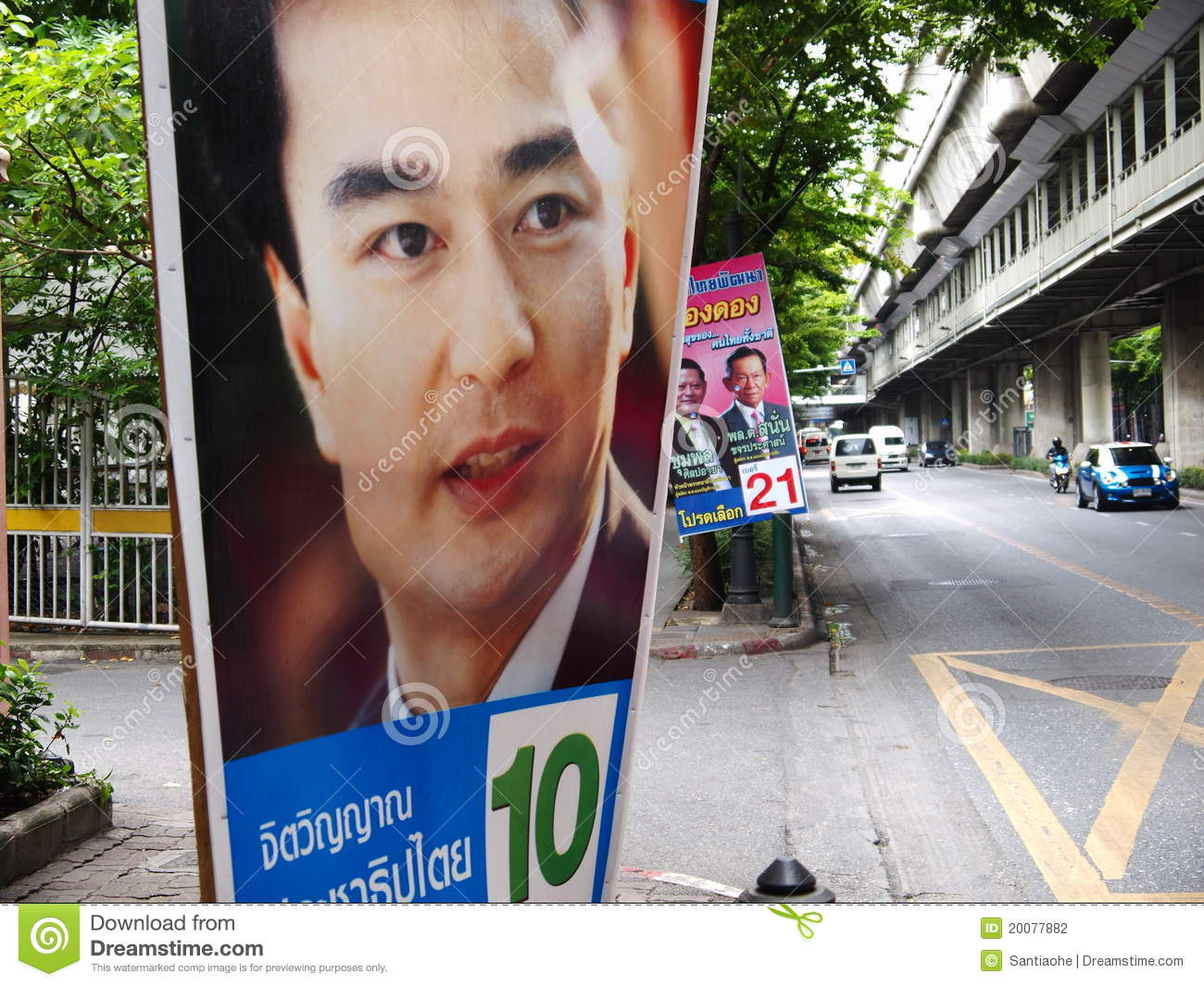 General Election Of Thailand Editorial Photography - Image ...