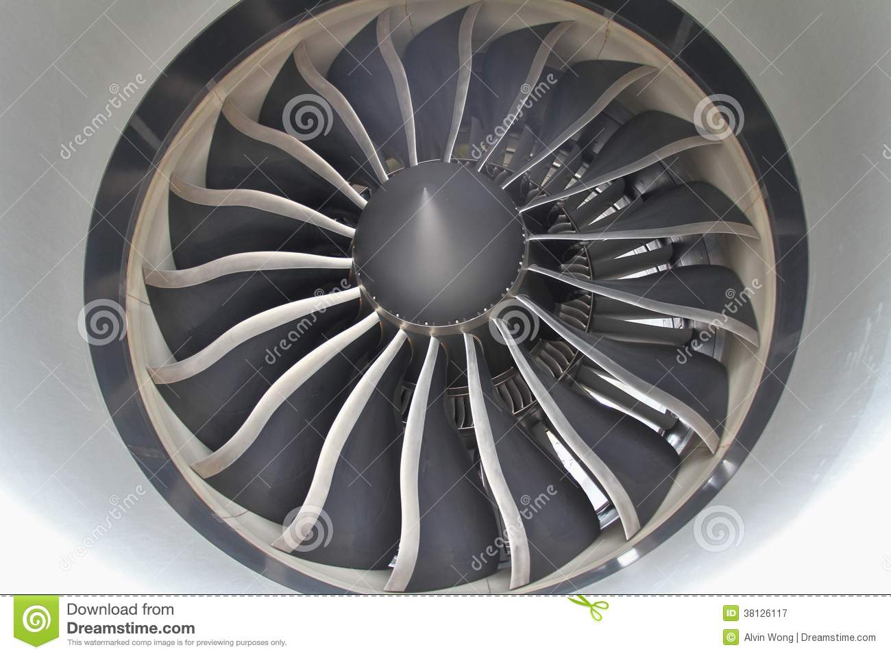 Jet Engine Fan Blades : Jet engine royalty free stock photography image
