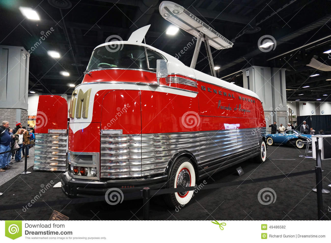 general motors futurliner no 10 editorial photography