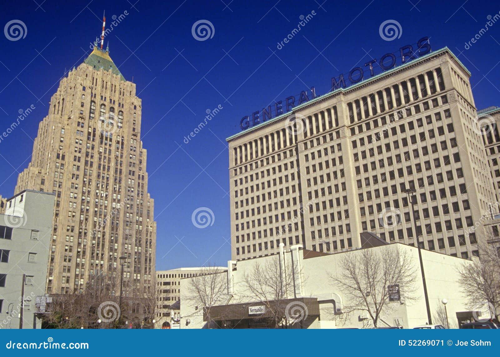General Motors Headquarters In Downtown Detroit, MI