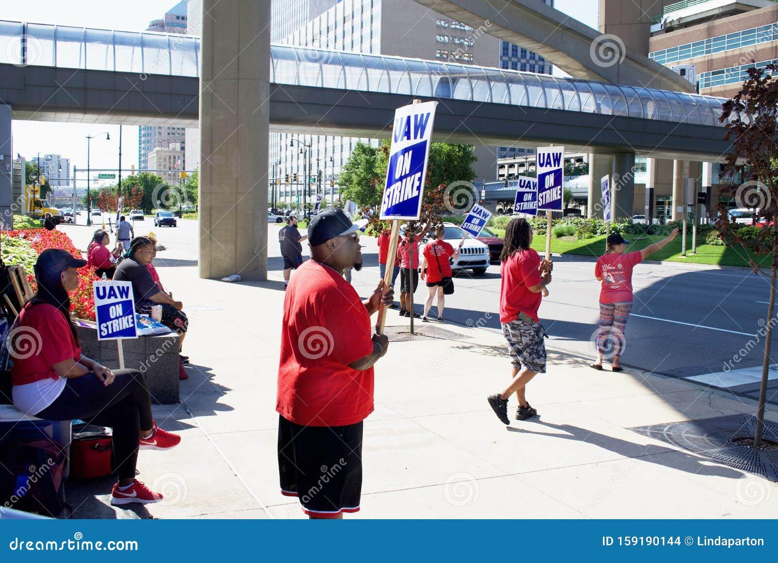 General Motors, United Auto Workers On Strike Editorial ...