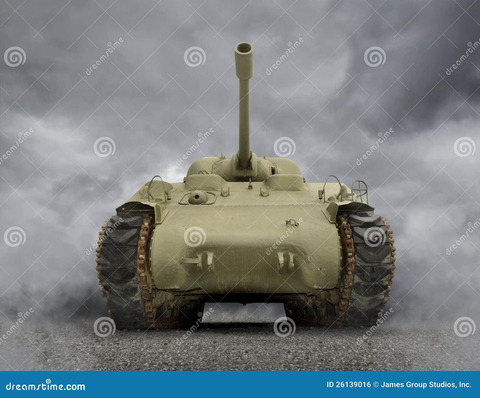 Download General Sherman Tank stock photo. Image of artillery - 26139016