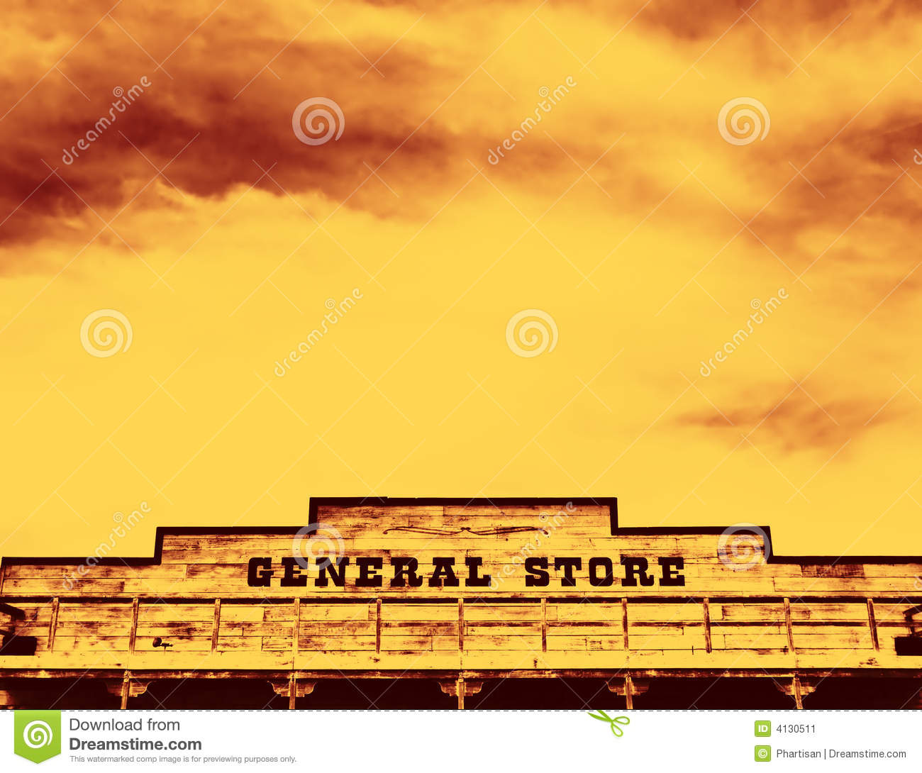 Download General Store stock image. Image of ghost, decaying, world - 4130511