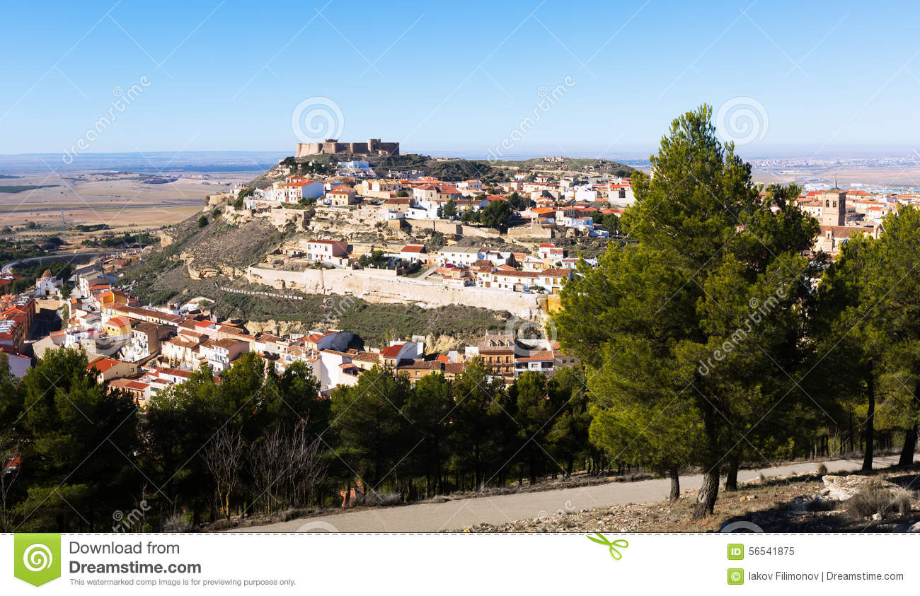 General view of old spanish town