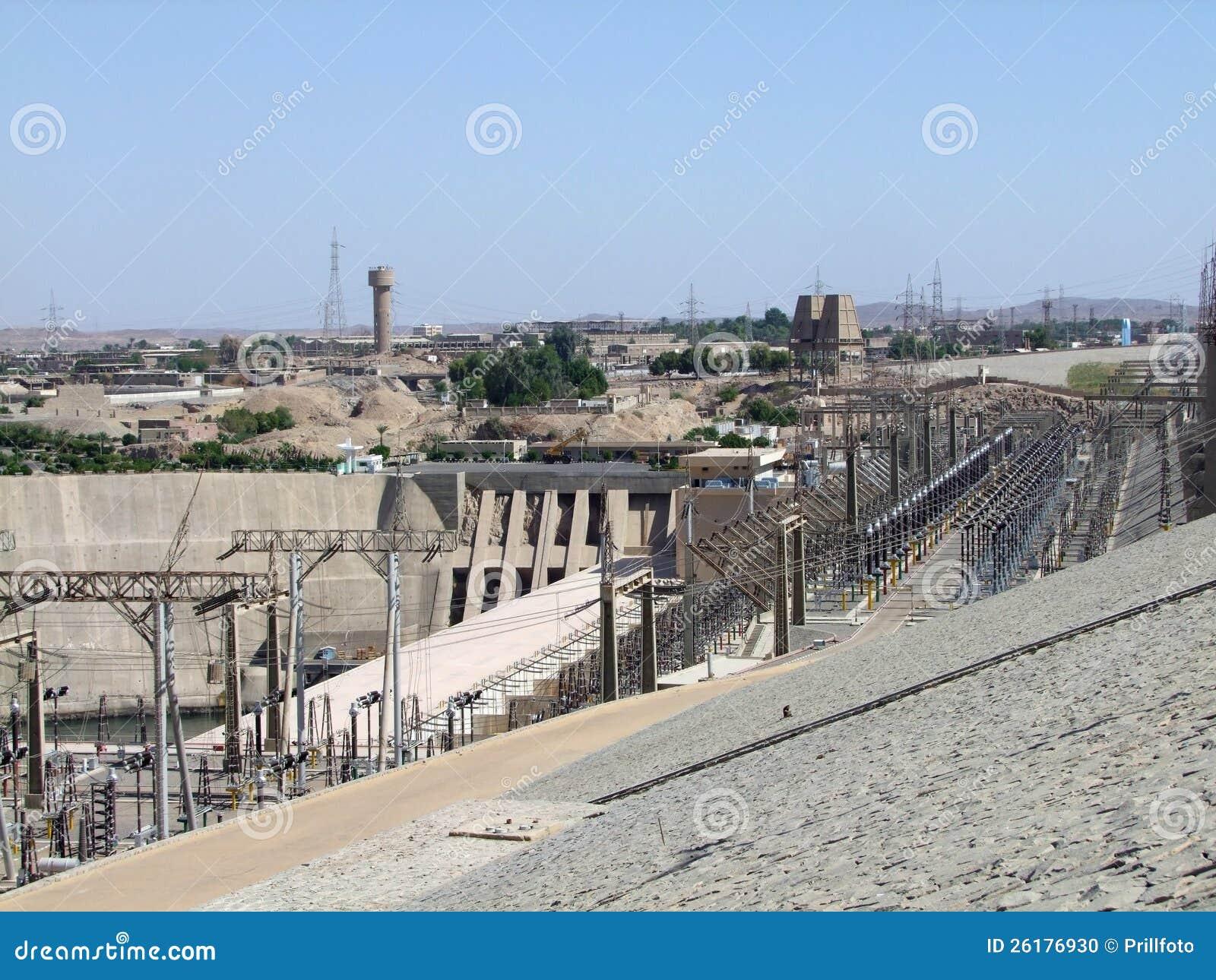 Generating plant in Aswan