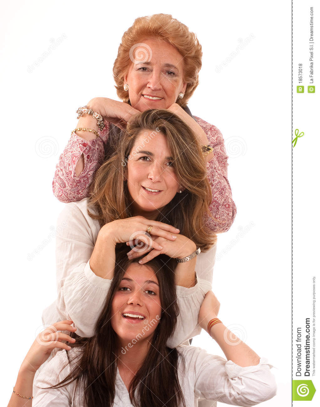 Generations of women