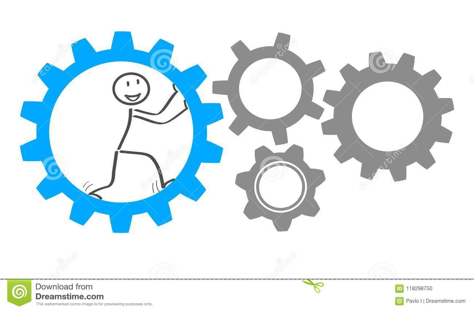 generator business idea - vector stock vector - illustration of