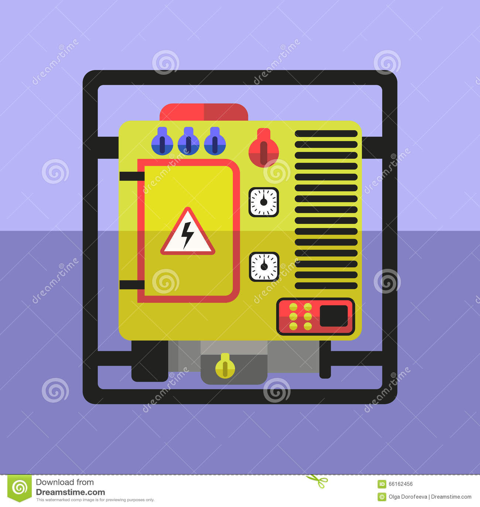 Diesel Generator Stock Illustrations – 161 Diesel Generator Stock ...