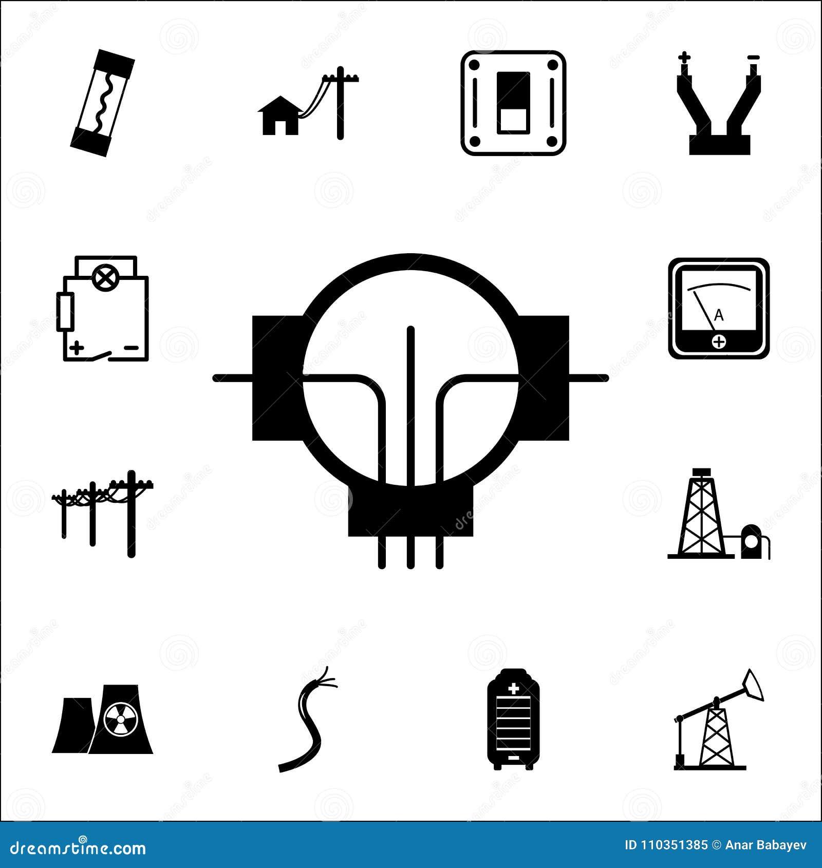 Generator Icon. Set Of Energy Icons. Premium Quality Graphic Design ...