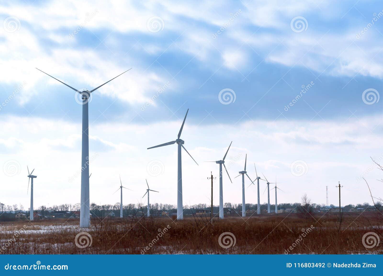 Generatore eolico, generatore eolico, centrali eoliche, tipo ecologico di energia, elettricità dal vento
