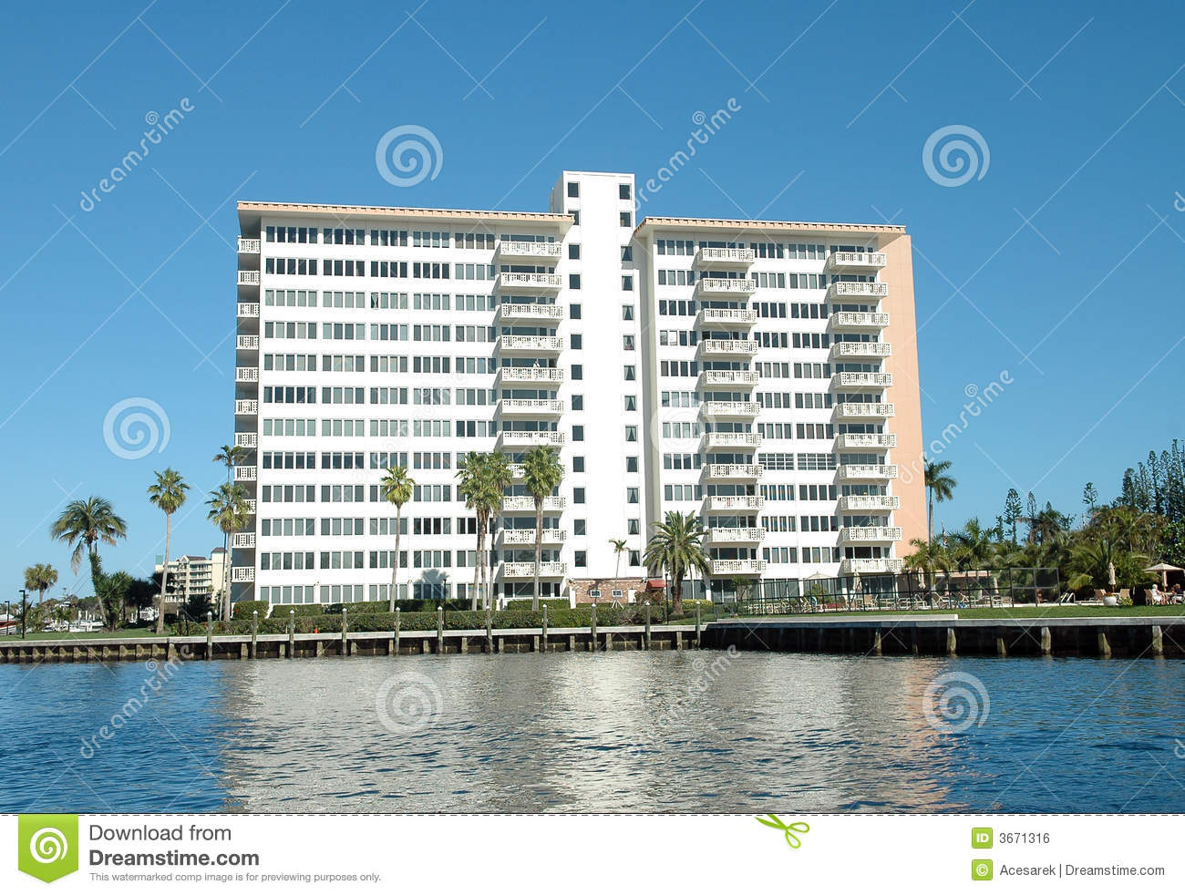 Apartment Building generic apartment building royalty free stock image - image: 3671316