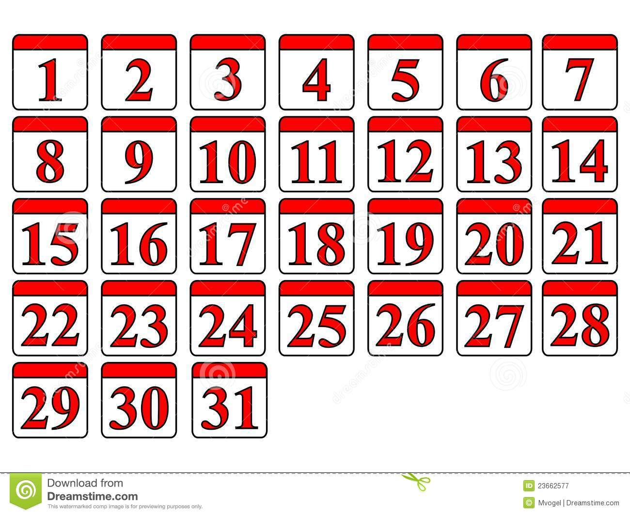 Generic Calendar Royalty Free Stock Photography - Image: 23662577
