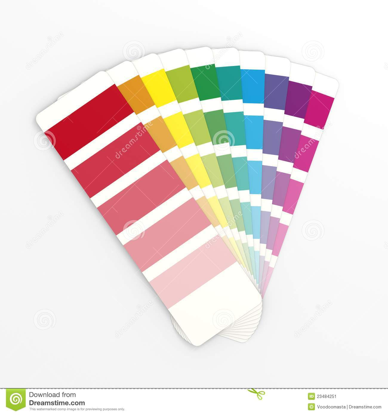 royalty free stock photo download generic color swatches - Color Swatch Book