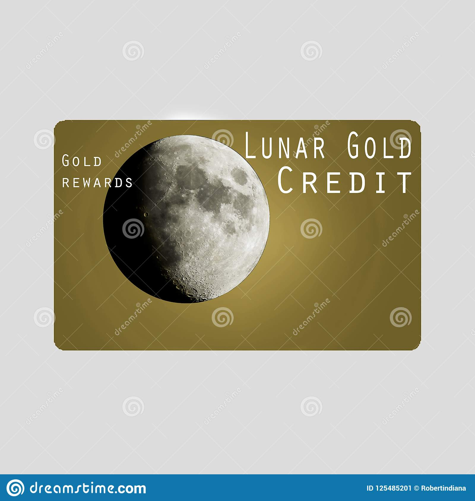 This is a generic credit card isolated on a white background.
