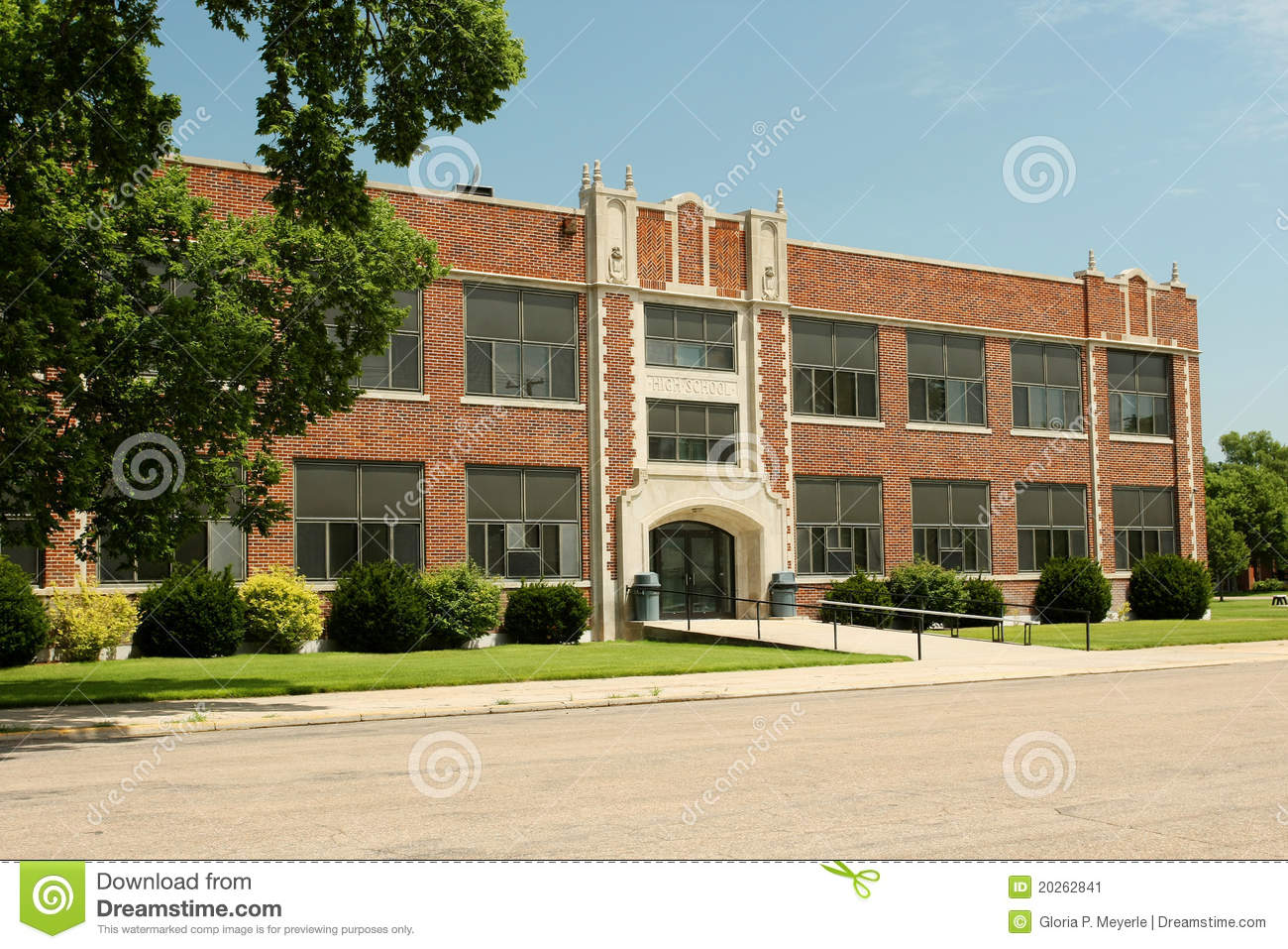 Generic High School Building