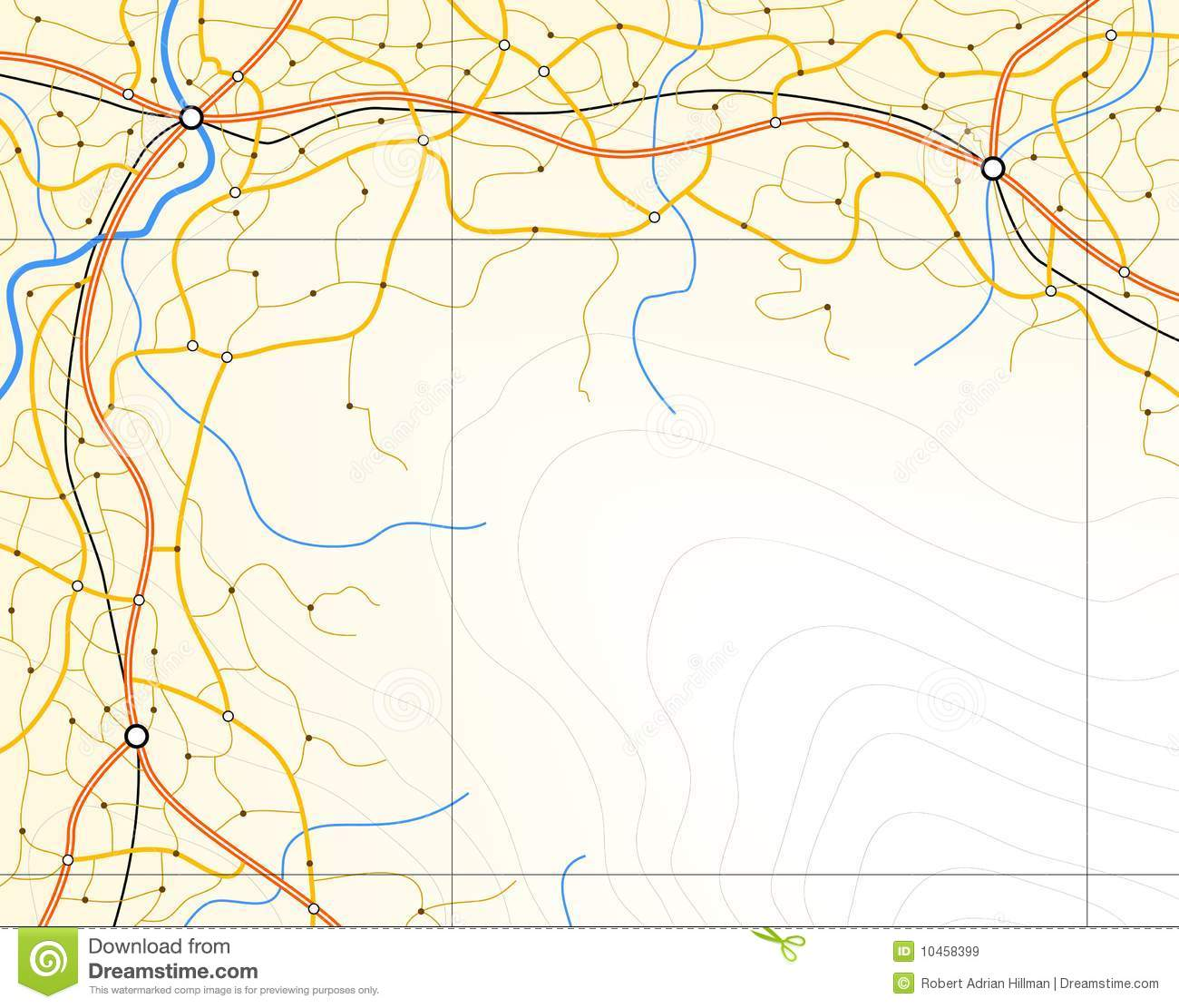 Generic map stock vector illustration of background 10458399 generic map gumiabroncs Choice Image