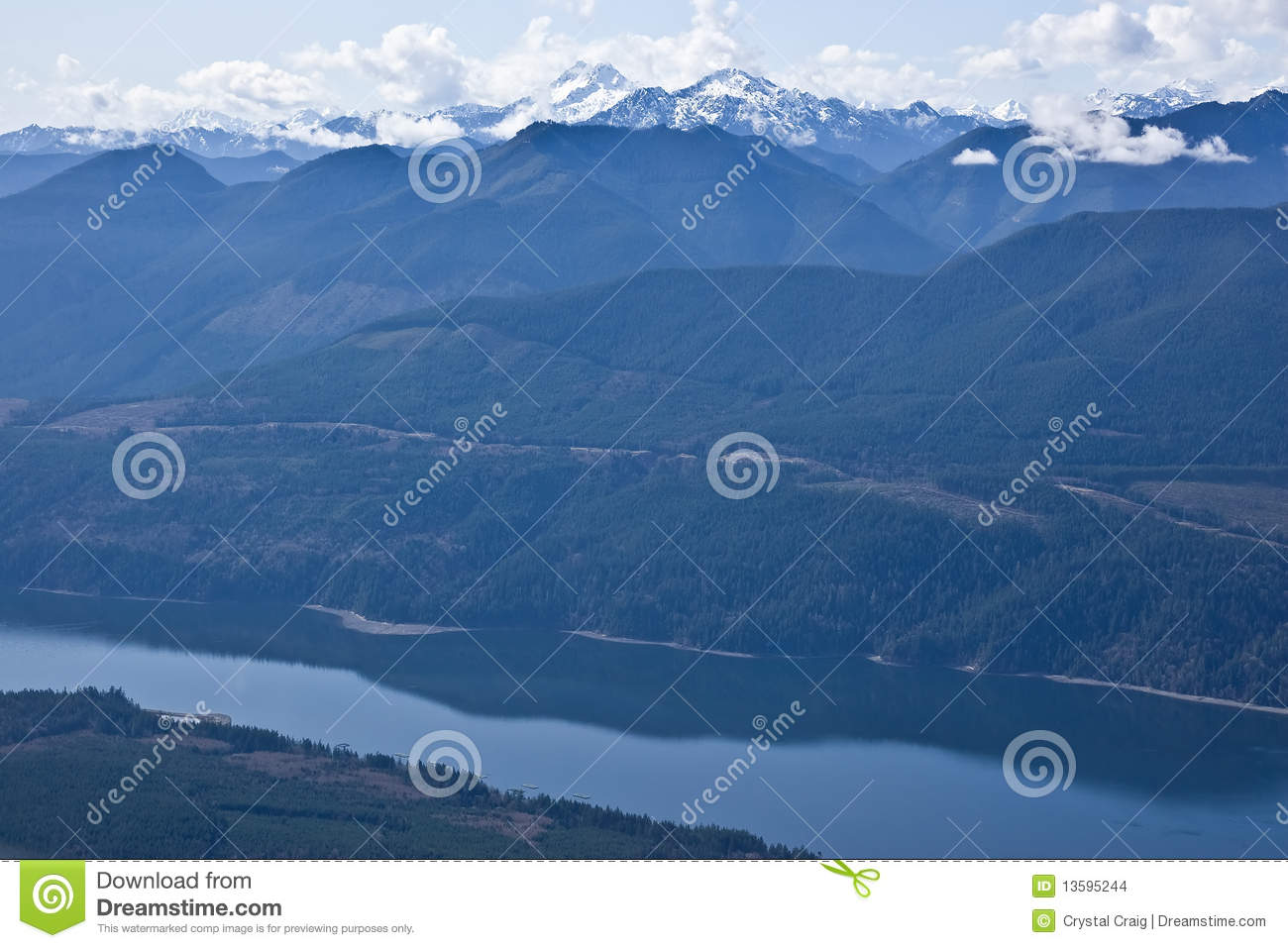 generic pacific northwest scenery stock images