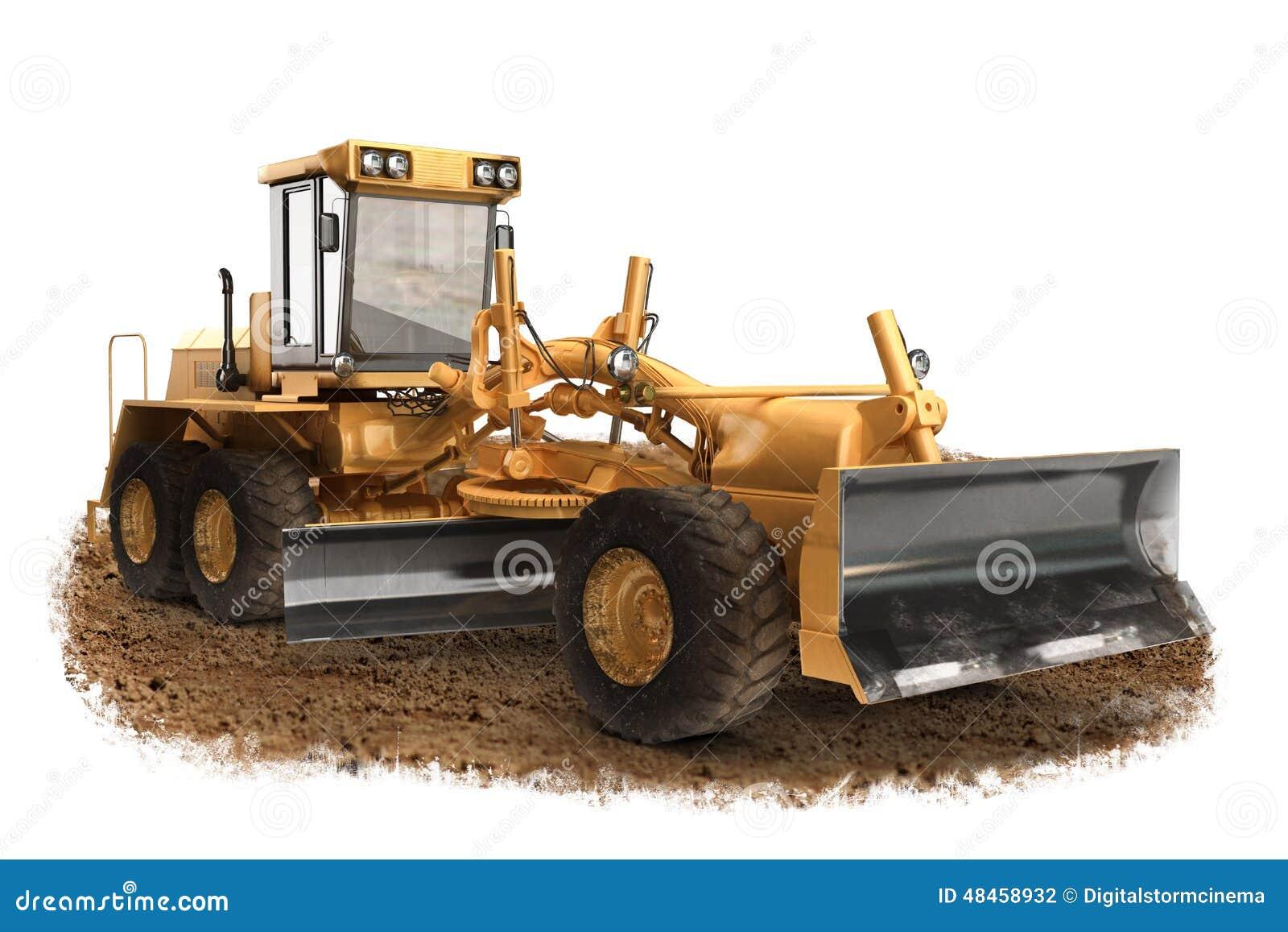 Generisch van de de nivelleermachinebouw van de bouwweg de machinesmateriaal