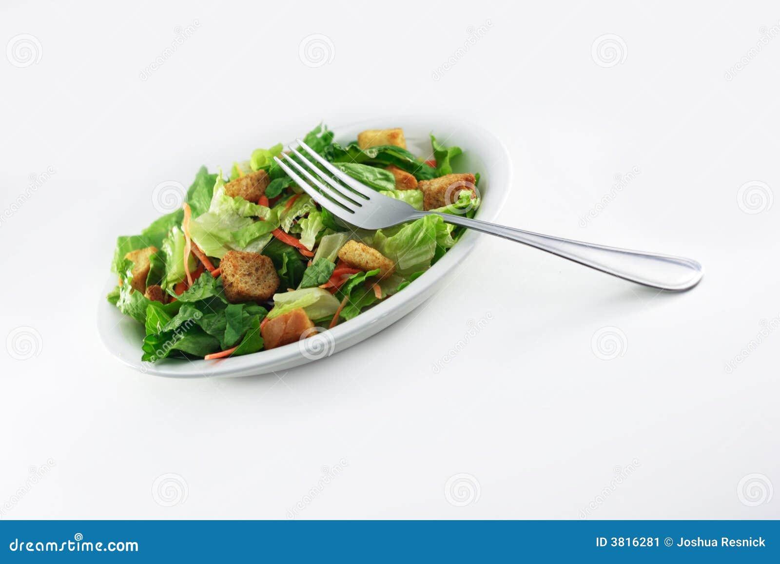 Generisk sallad för gaffel