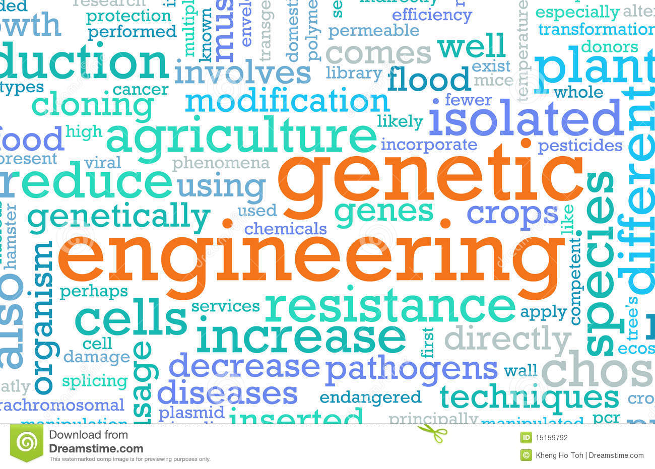 genetic engineering stock photography image  abstract concept engineering genetic
