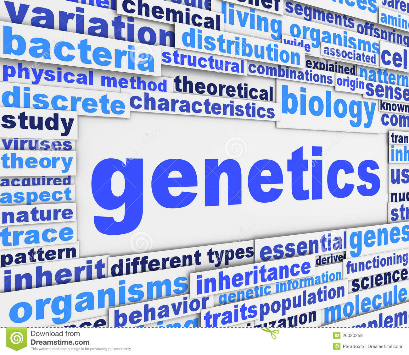 Genetics Poster Conceptual Design Royalty Free Stock Photos ...