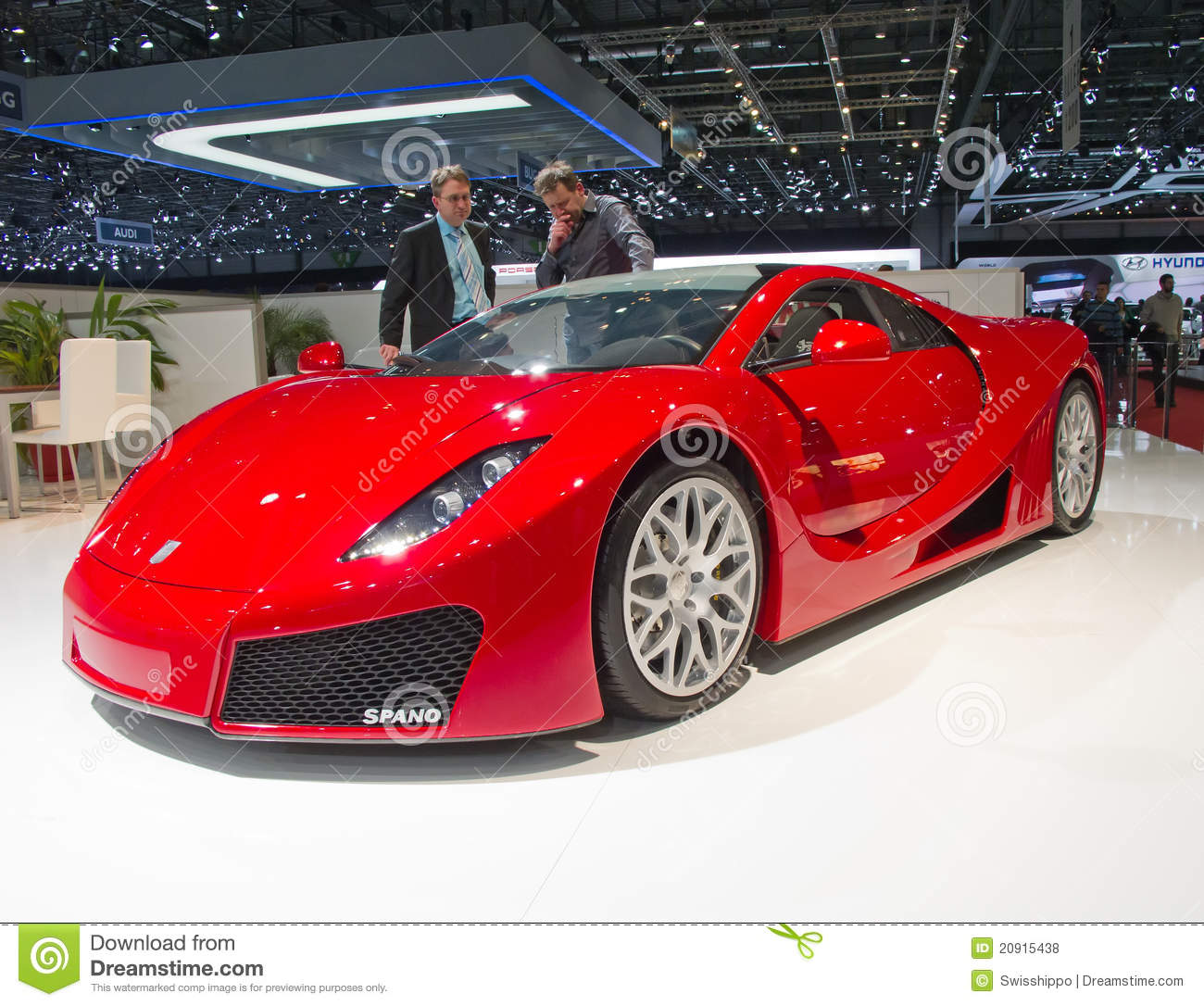 Geneva 81th International Motor Show Editorial Stock Photo