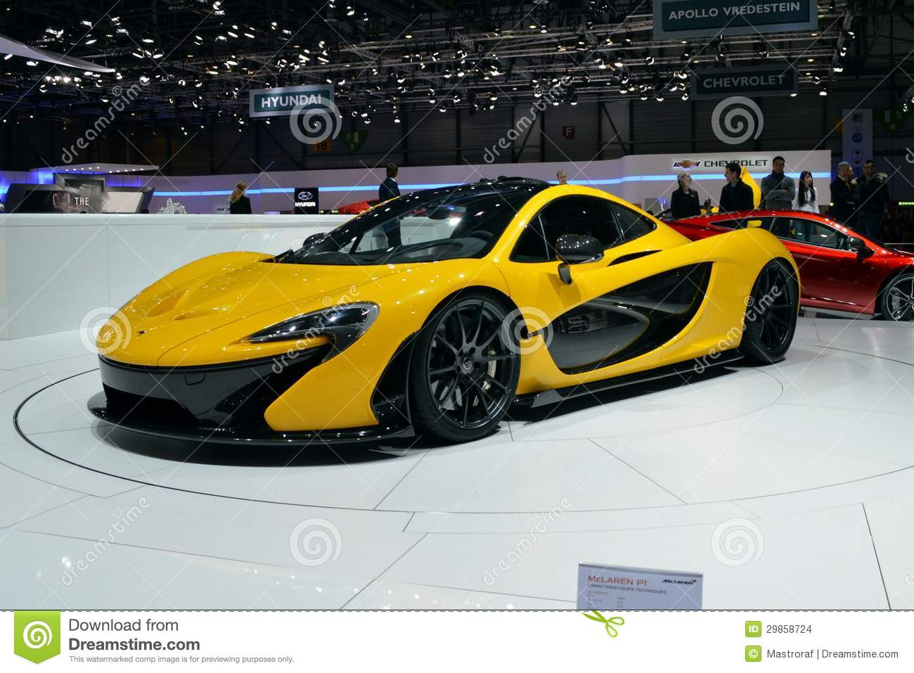 mclaren p1 editorial stock image. image of power, chassis - 29858724