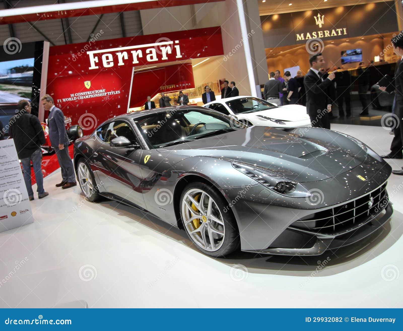 Ferrari F12 Berlinetta Editorial Photography Image 29932082