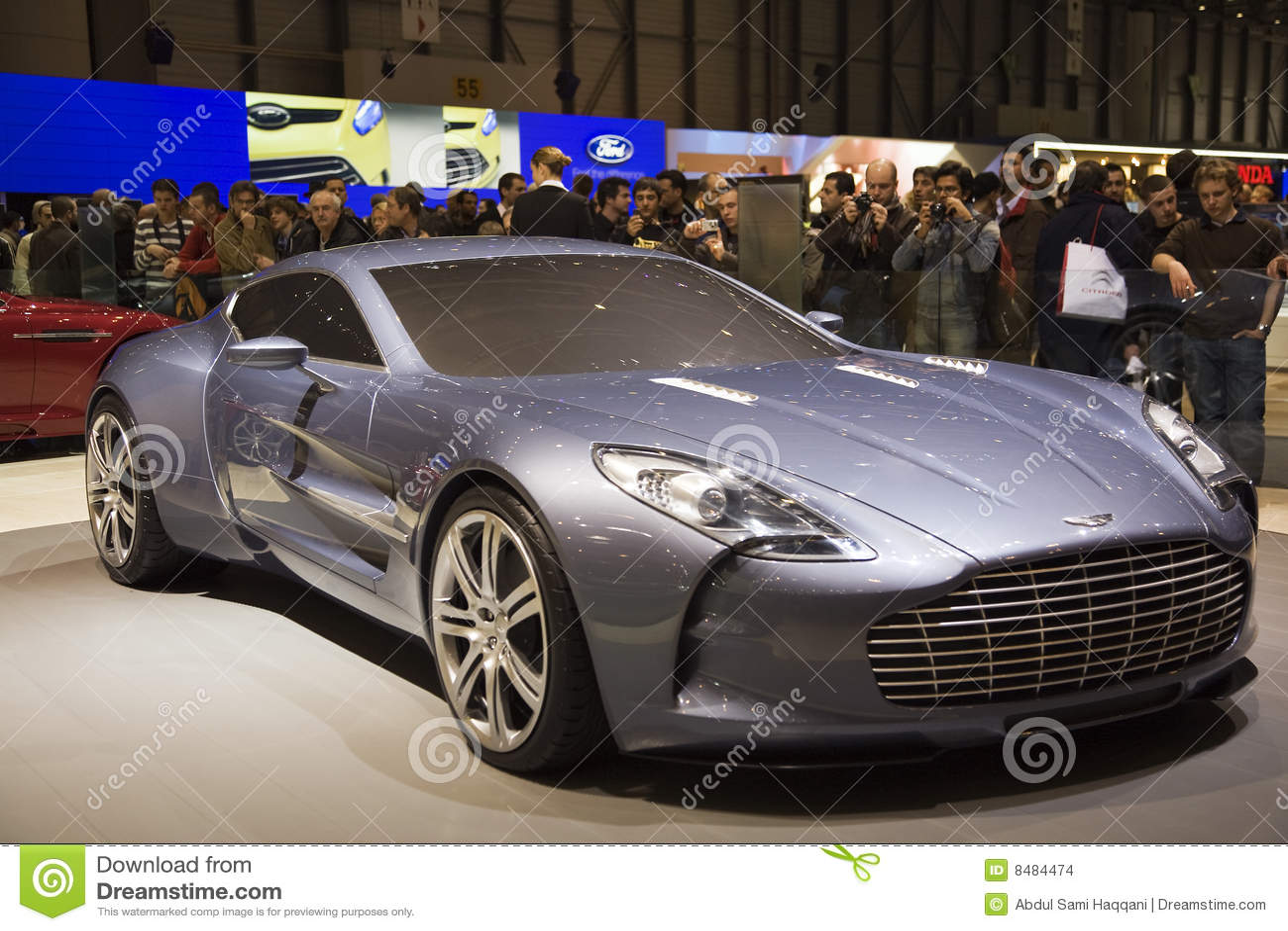Geneva Motor Show - Aston Martin One 77