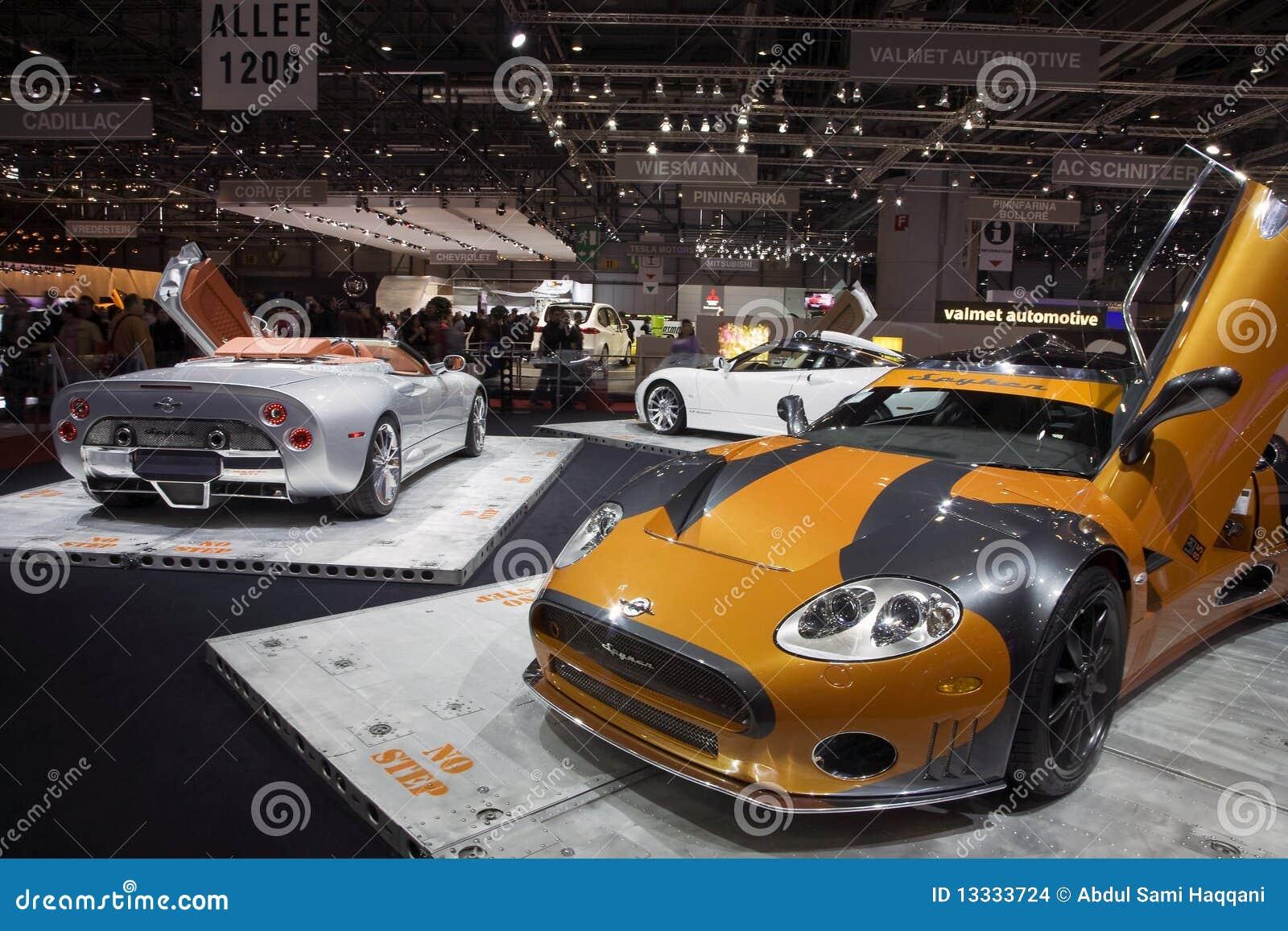 Geneva motorowego przedstawienie spyker
