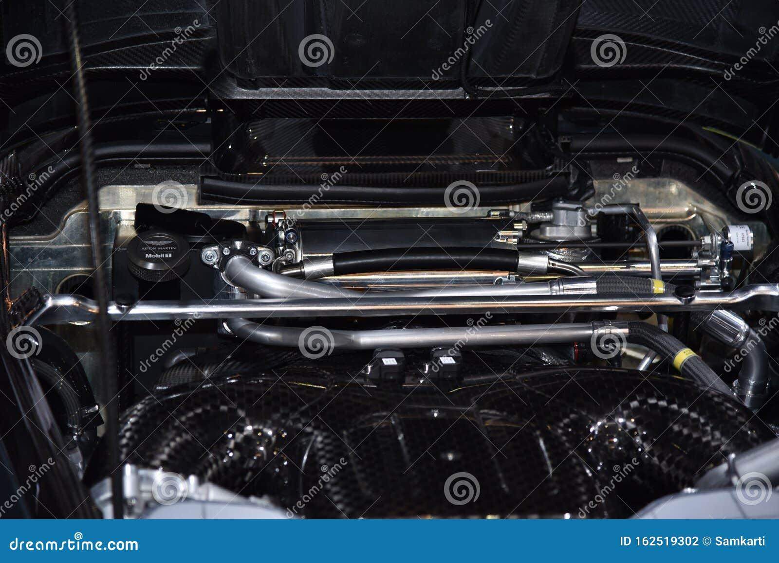 Geneva Switzerland March 06 2019 Aston Martin Valkyrie Geneva International Motor Show 2019 Editorial Photography Image Of Auto Sport 162519302