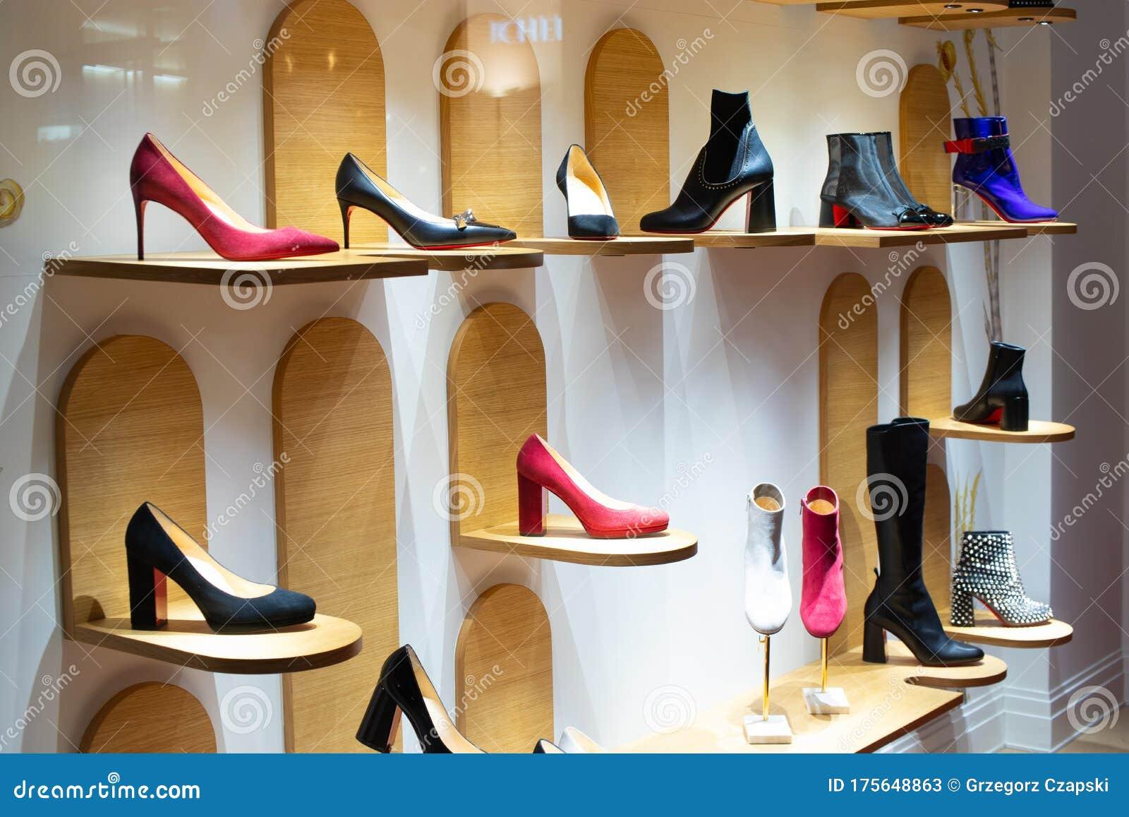 Christian Louboutin Window Store, Shoe