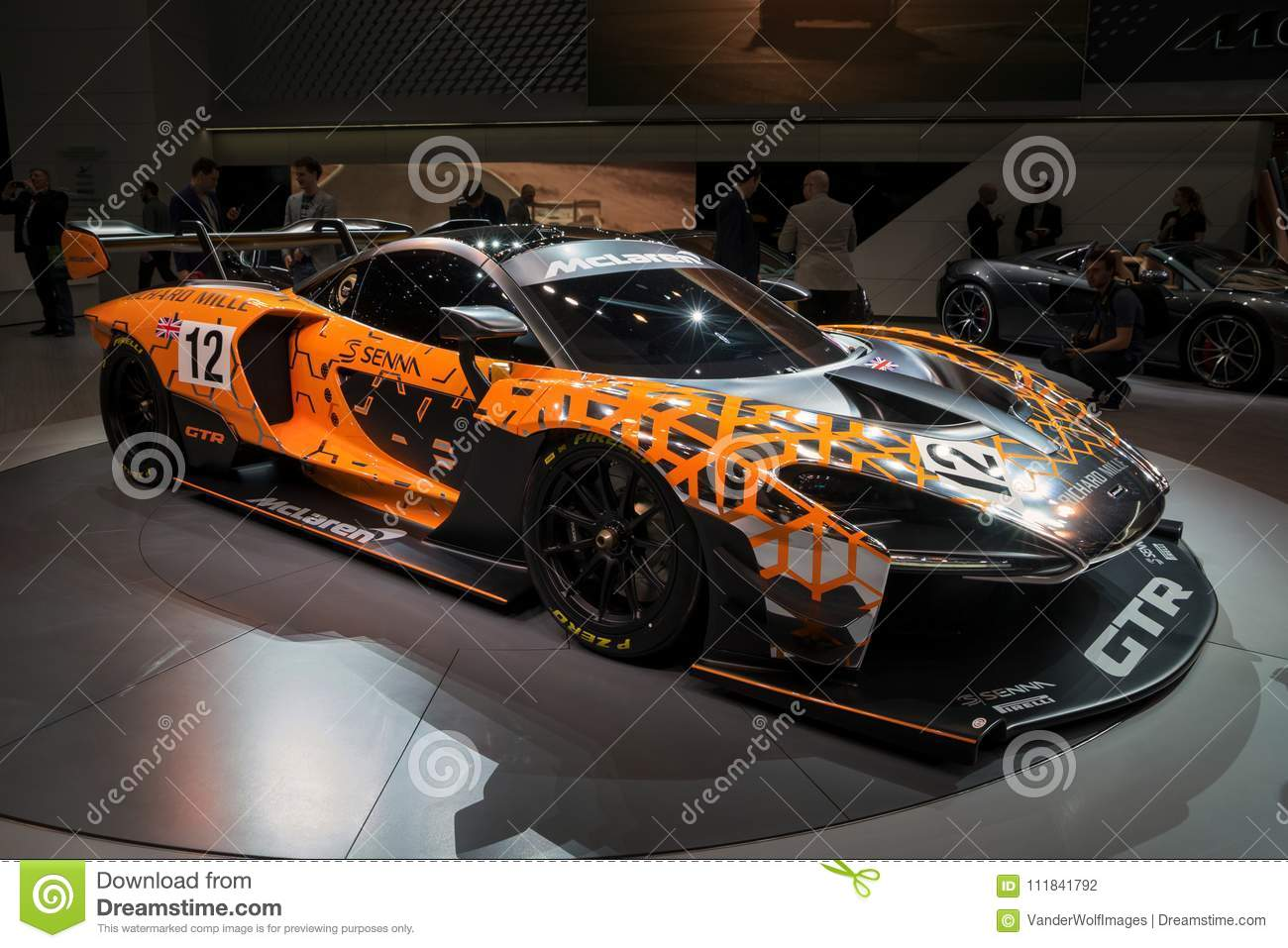 Mclaren Senna Gt R Sports Car Editorial Photography Image Of