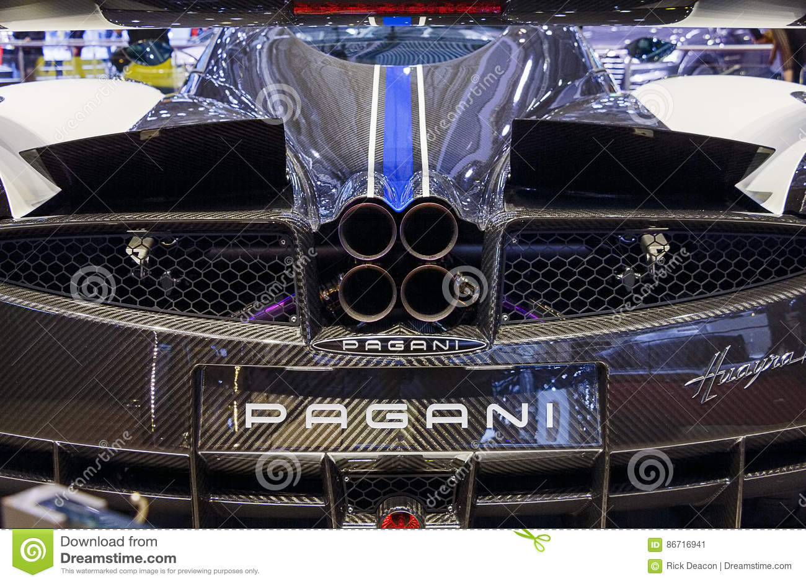 Pagani Zonda Exhaust Supercars Gallery
