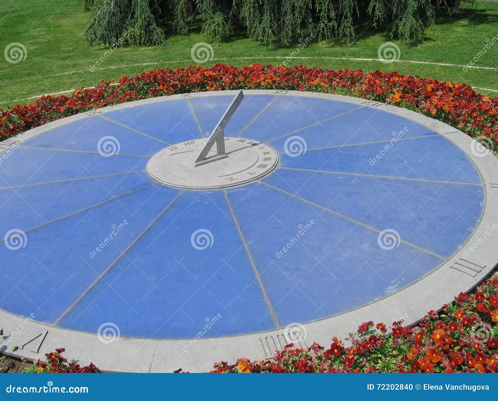 Genf-Blumen-Uhr