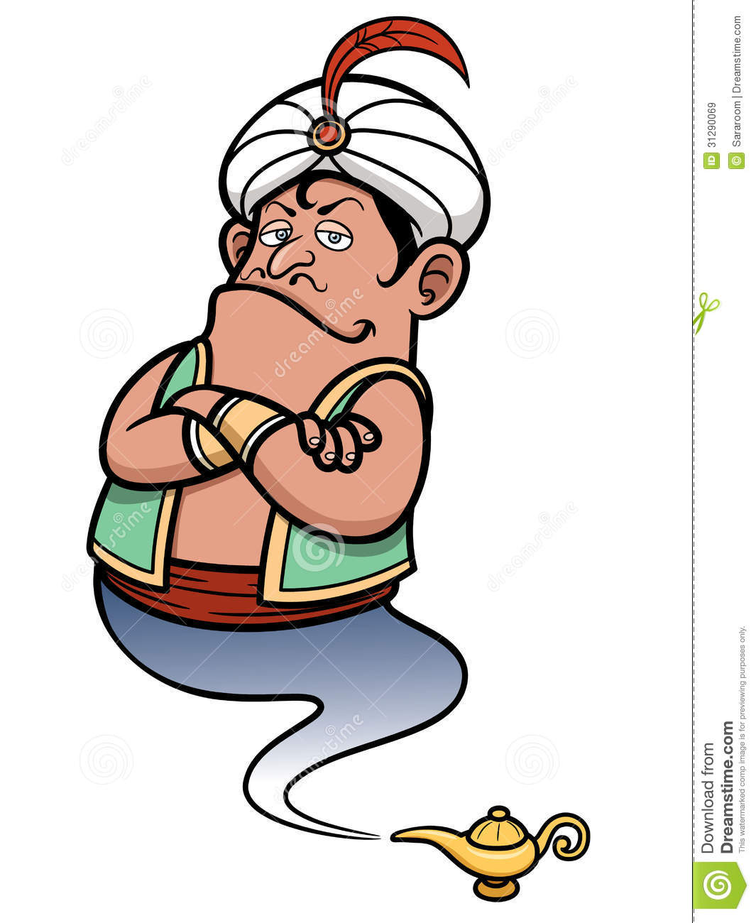 Genie lamp stock photos pictures royalty free genie - Royalty Free Stock Photo Coming Genie Illustration Lamp